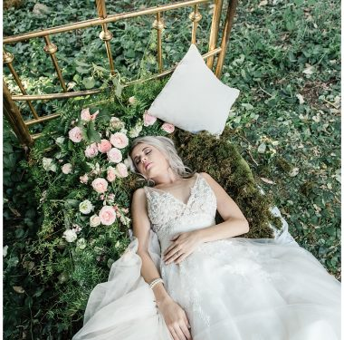 Sleeping Beauty Inspired Styled Shoot